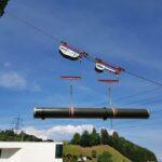 Nigg SK40NL Ortsveränderliche Materialseilbahnen